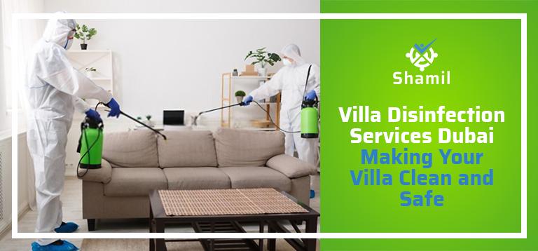 villa disinfection services in dubai